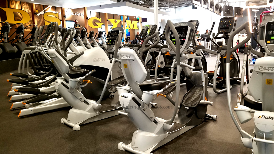 Cardio Equipment at Golds Gym Anaheim Garden Grove