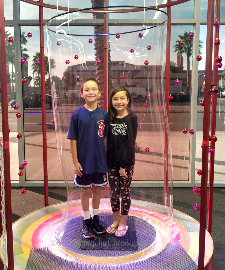 Kids in a Bubble at the Bubble Playground