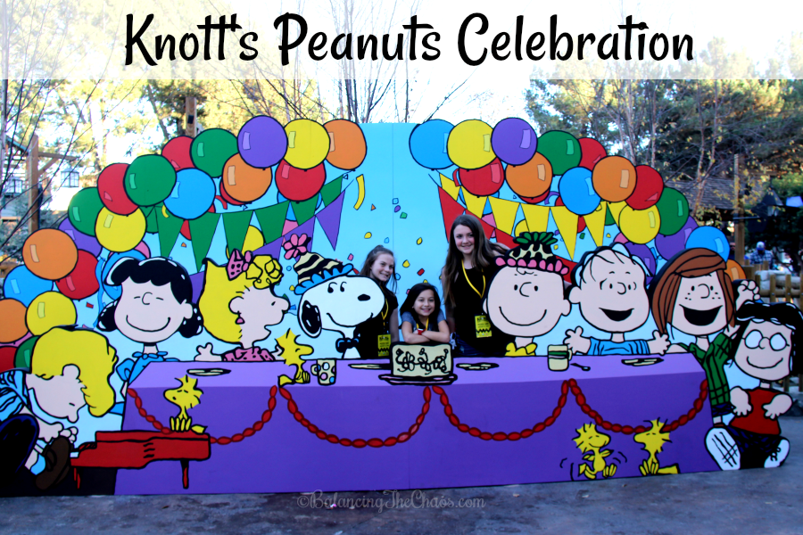 Knott's Peanuts Celebration at Knott's Berry Farm