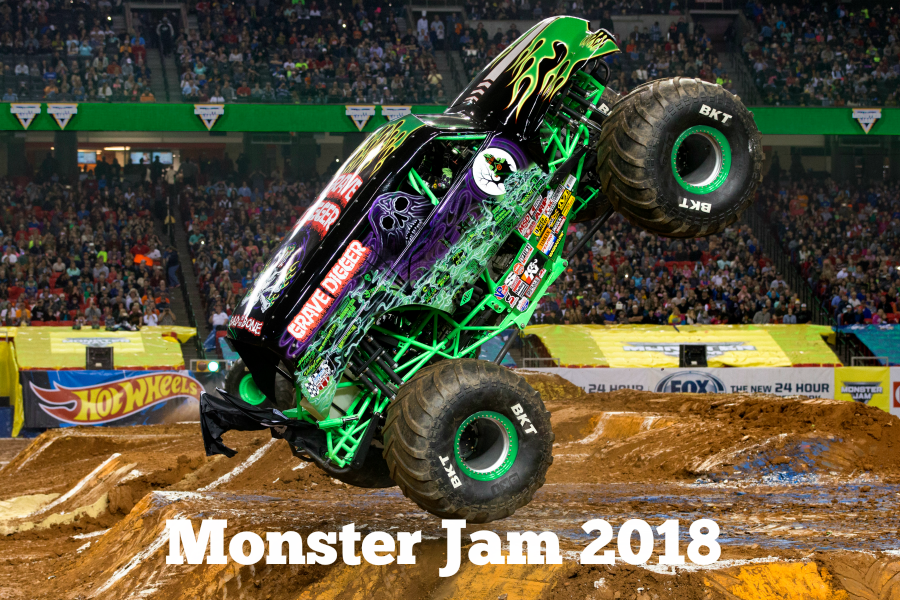 Monster Jam 2018 Grave Digger