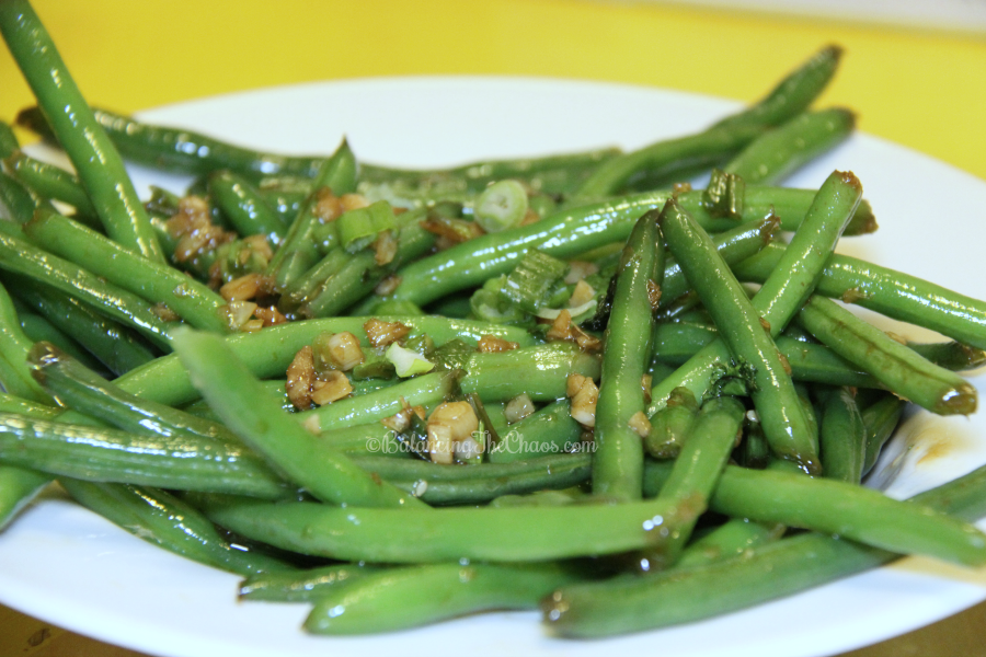 Sweet & Spicy Green Beans Ling Ling Event