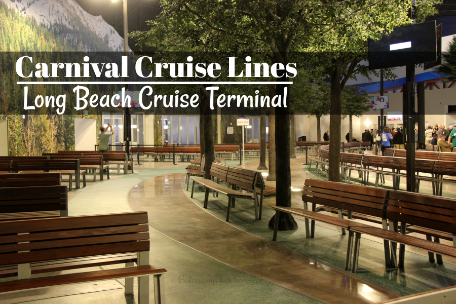 Carnival Cruise Lines Long Beach Terminal Remodel