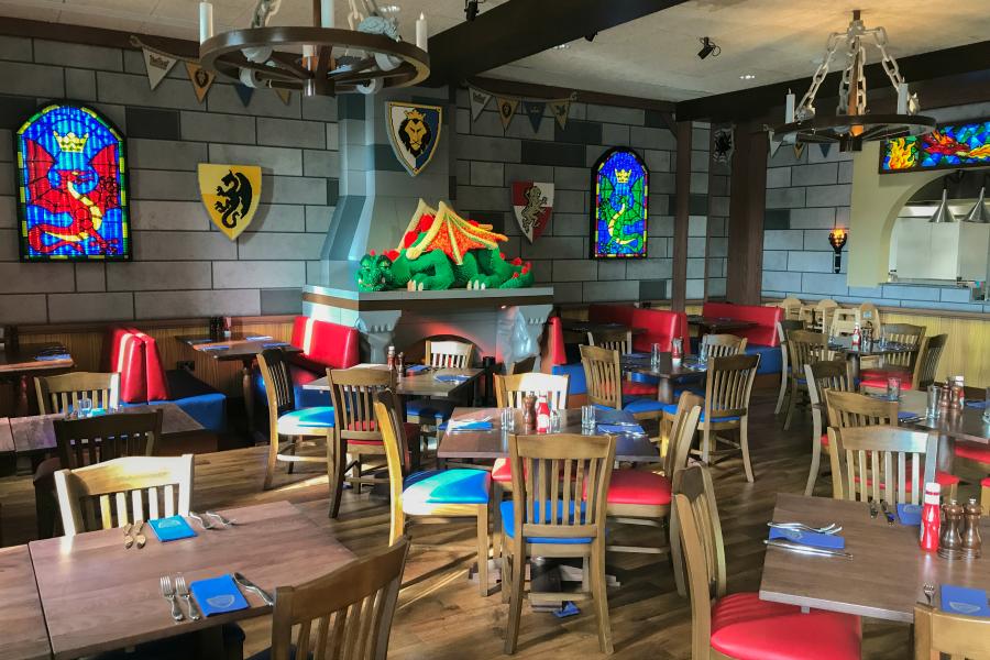 Dragons Den at Legoland Castle Hotel