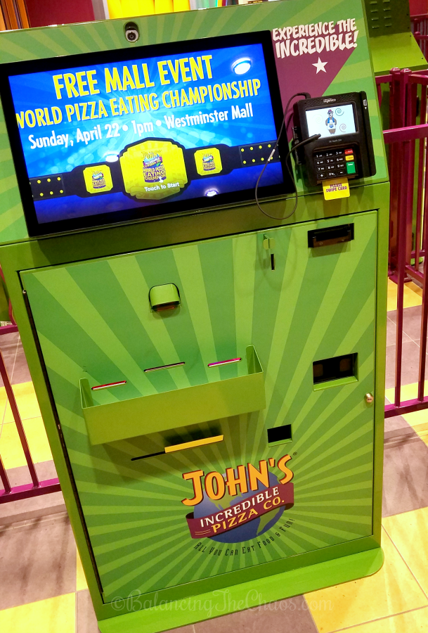 photograph about John Incredible Pizza Coupons Printable named Johns Extraordinary Pizza At this time Open up at Westminster Shopping mall