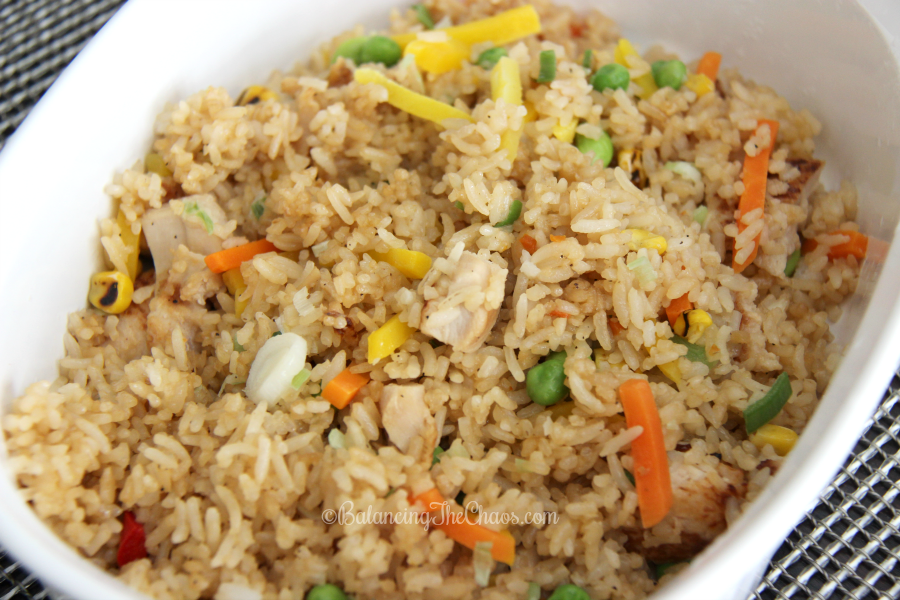 Ling Ling Asian Food Yakitori Chicken Fried Rice