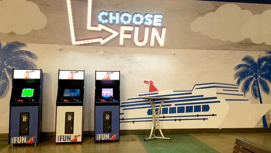 Waiting at the Long Beach Cruise Terminal