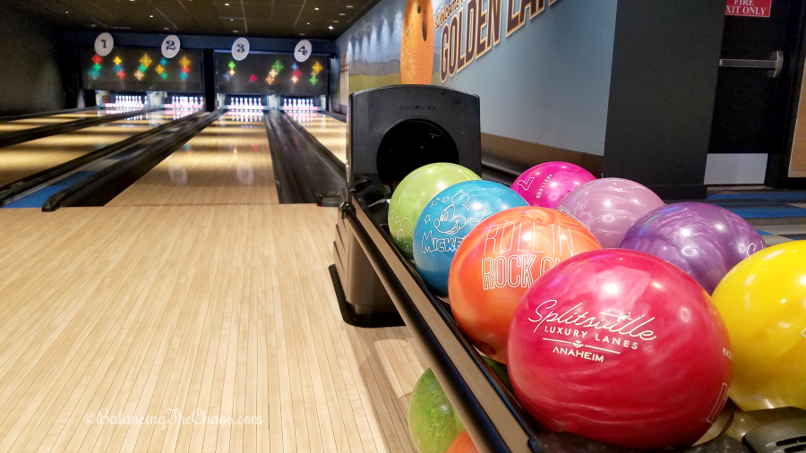 Not just your average bowling alley layout