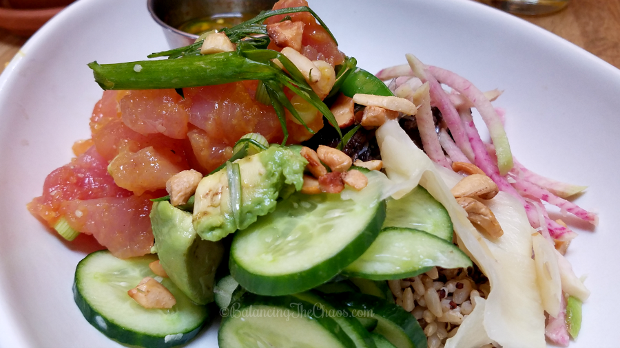 True Food Kitchen Poke Bowl