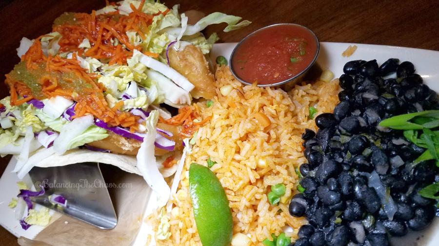 Lazy Dog Fish Tacos