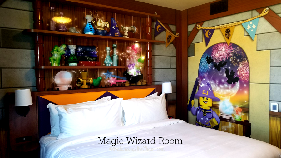 Magic Wizard Room at the Legoland Castle Hotel