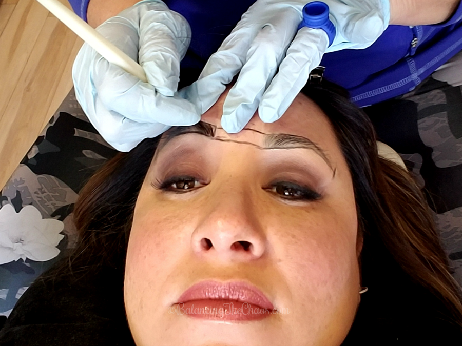 Reshaping Brows with Microblading