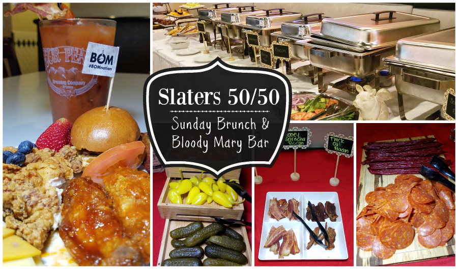 Slaters 5050 Sunday Brunch and Bloody Mary Bar