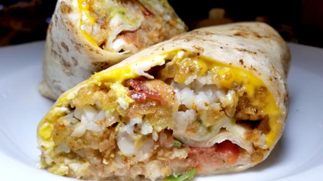 Slater's Spicy Chorizo Breakfast Burrito