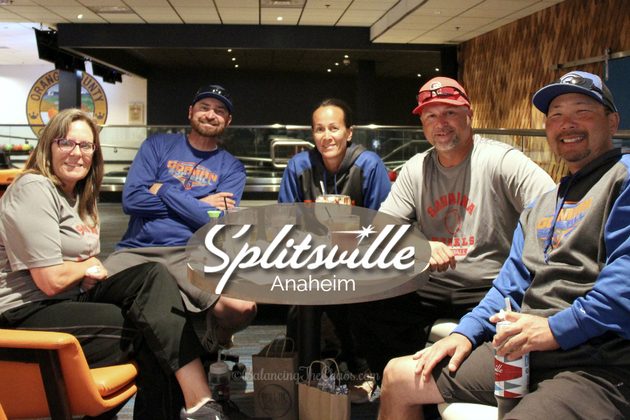 Team Building with Coaches at Splitsville Anaheim