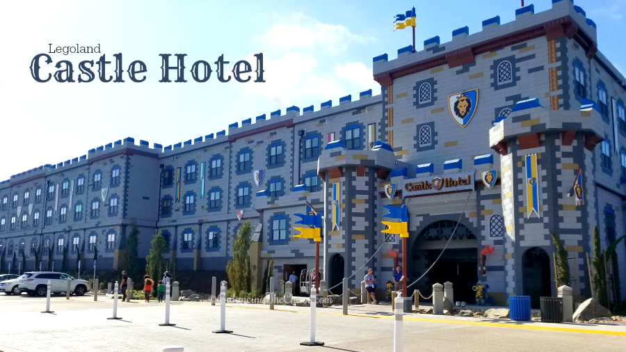 The New Legoland Castle Hotel in Carlsbad