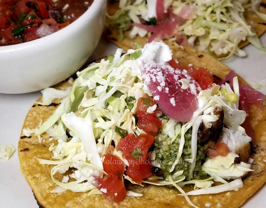 Spring at True Food Kitchen Fish Tacos