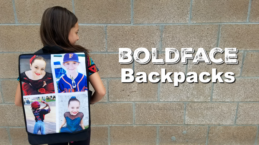 Boldface Backpacks
