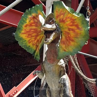 Jurassic Park the Ride Velociraptor