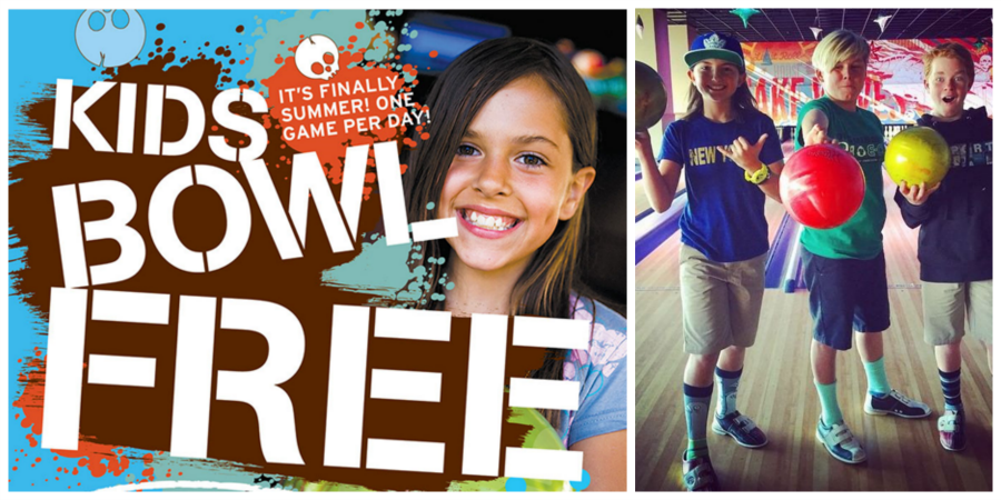 Kids Bowl Free at The Triangle Tavern + Bowl