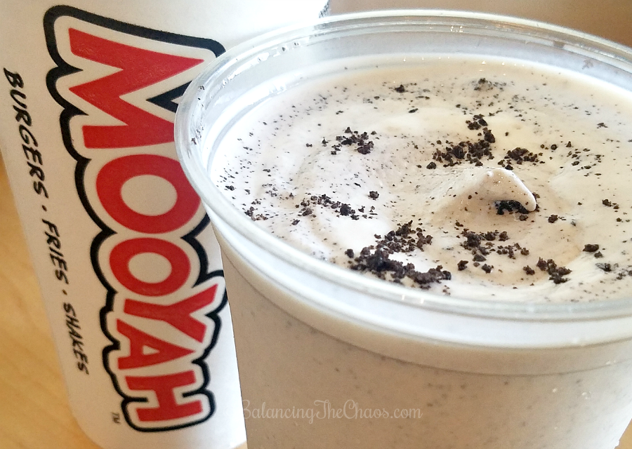 Mooyah real ice cream shakes