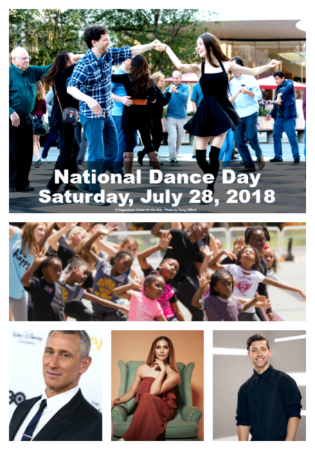 National Dance Day July 28 2018 Segerstrom Center for the Arts