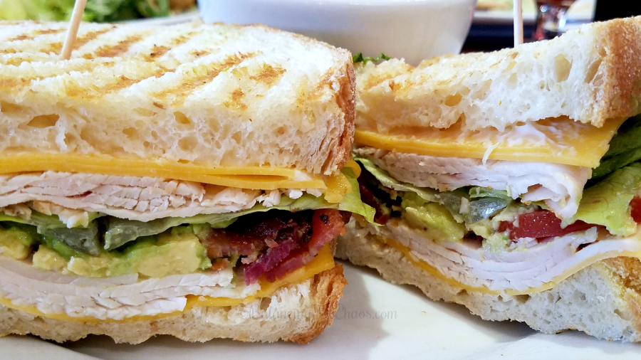 Turkey Club at Panini Kabob Grill