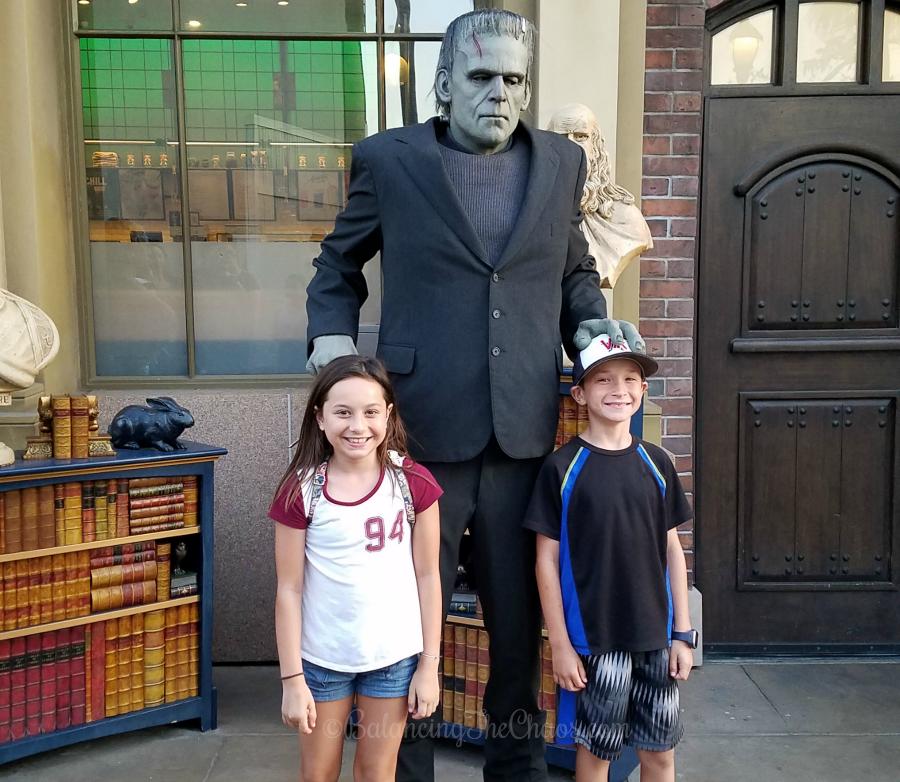Visiting Frankenstein