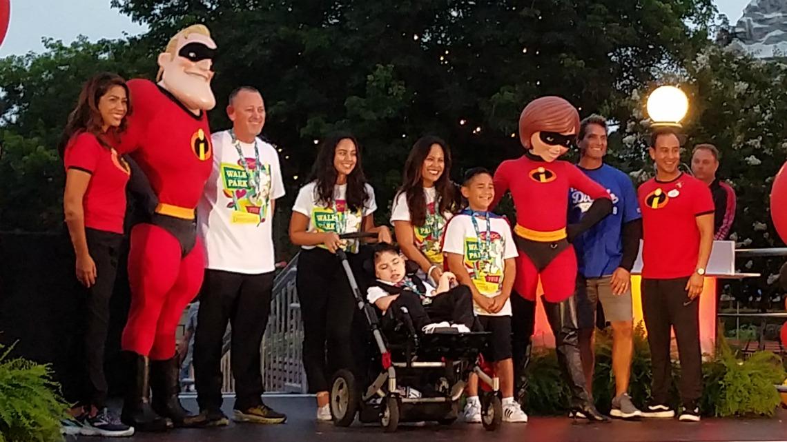 CHOC Walk Ambassador Justin and Family