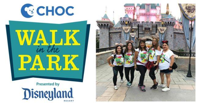 Friends at CHOC Walk in the Park at Disneyland