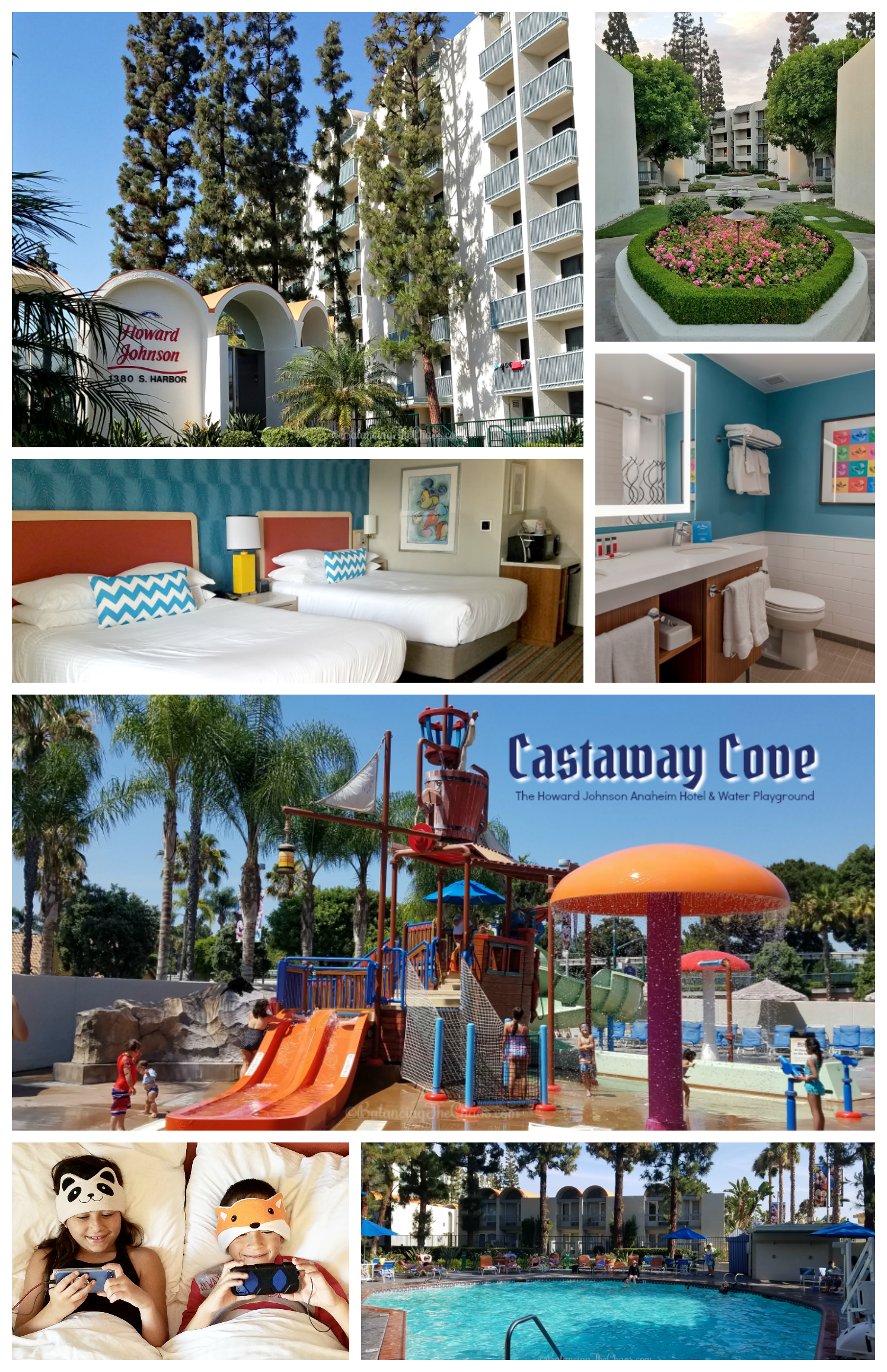 Howard Johnson Anaheim Hotel & Water Playground offers guests to newly remodeled, fun retro rooms and is walking distance from Disneyland and restaurants.