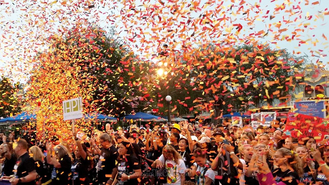 OC CHOC Walk celebration