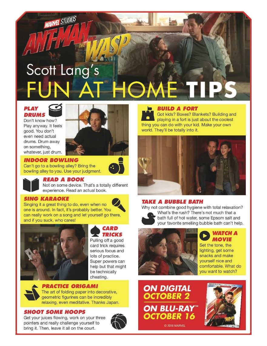 Fun at Home With Ant-Man And The Wasp - Balancing The Chaos