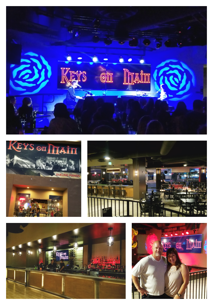 Keys on Main is a great location for a lively and interactive evening of singing and dancing with a dueling piano club