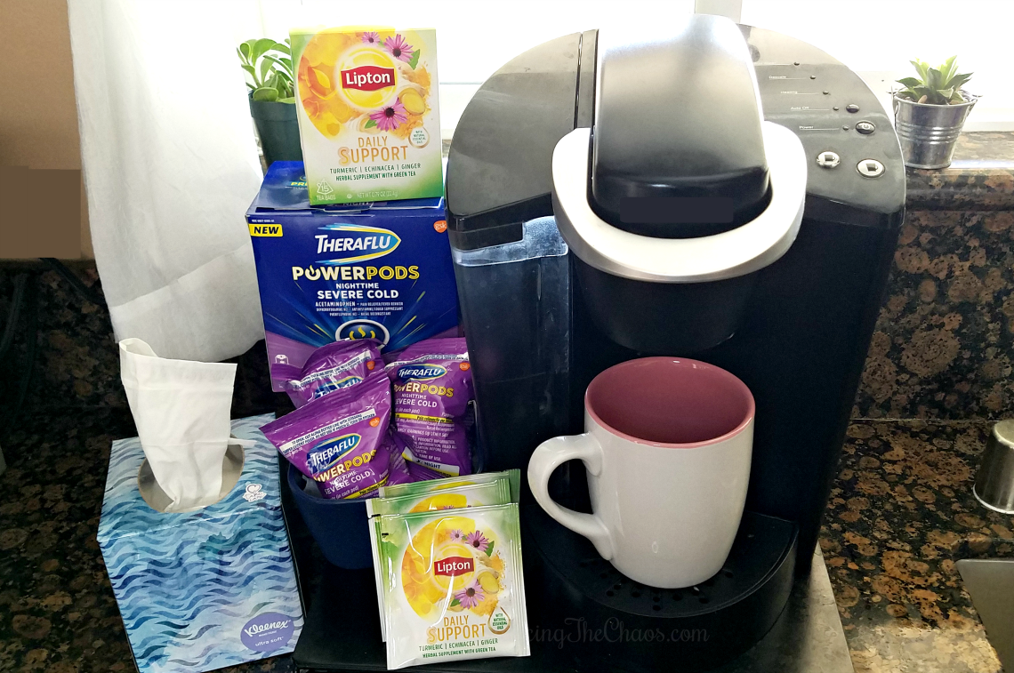 Preparing for the flu season with Theraflu, Kleenex and Lipton
