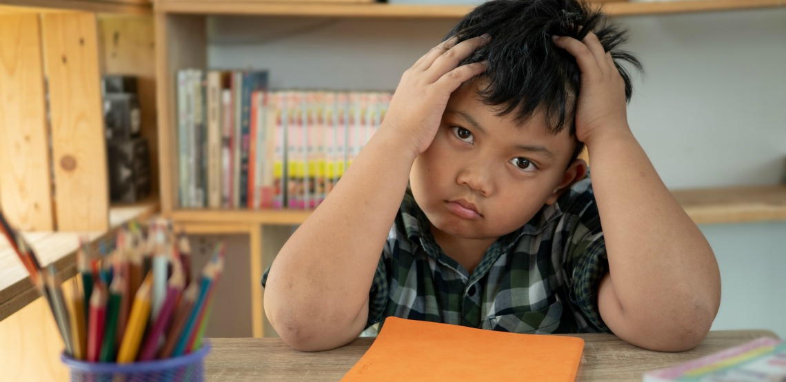 Managing child anxiety with school related situations