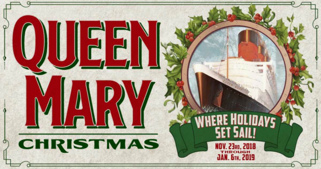 A Queen Mary Christmas November 23rd through January 6th