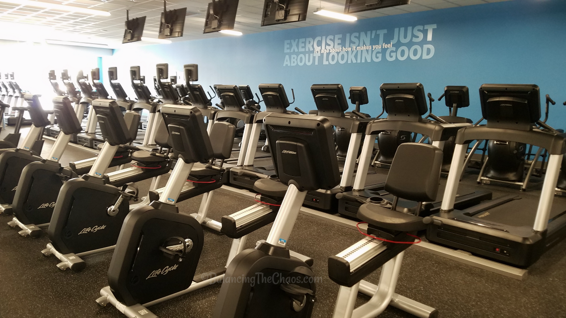 Cardio Machines at Blink Fitness in Anaheim