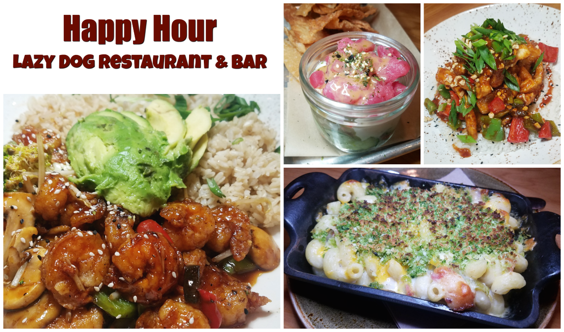 Happy Hour at Lazy Dog Restaurant and Bar
