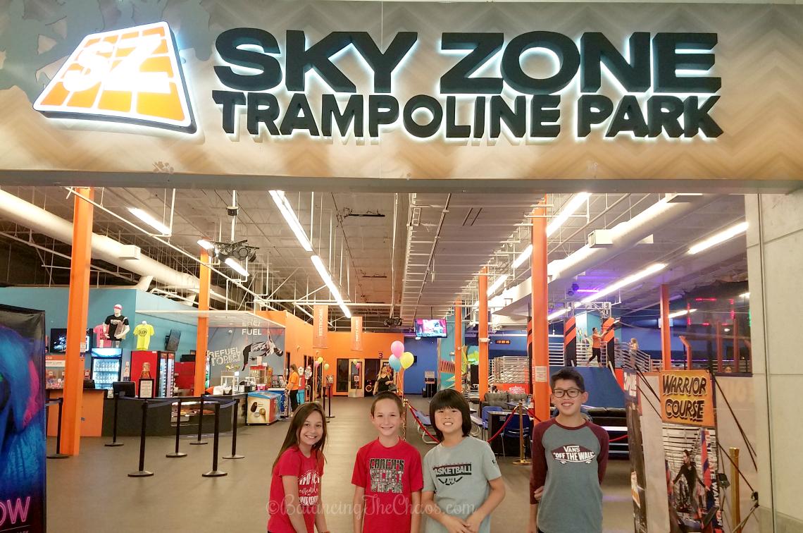 Sky Zone Trampoline Park Westminster