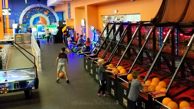 Unlimited arcade games at Sky Zone Westminster