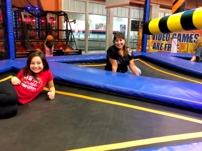 Wipe Out at Sky Zone Westminster Mall