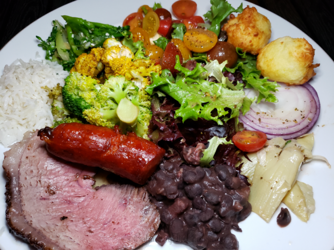 Delicious meats from Silva's Fresh Eatery in Costa Mesa