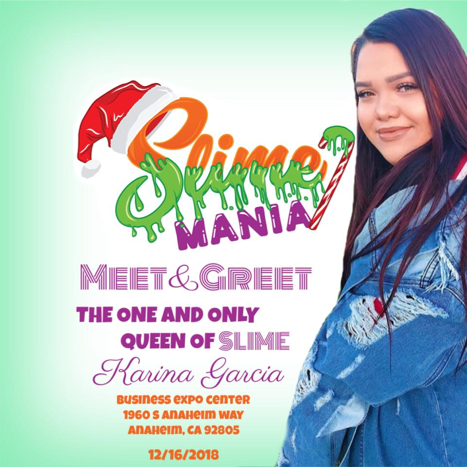 Slime Mania Meet and Greet