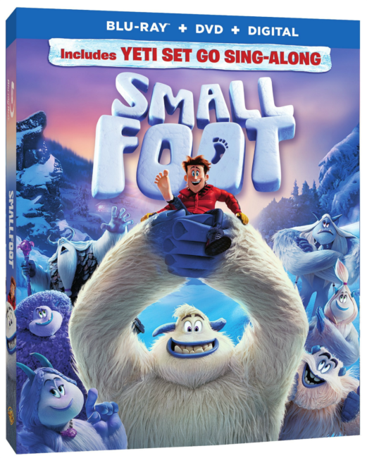 Smallfoot Blu-Ray DVD Digital
