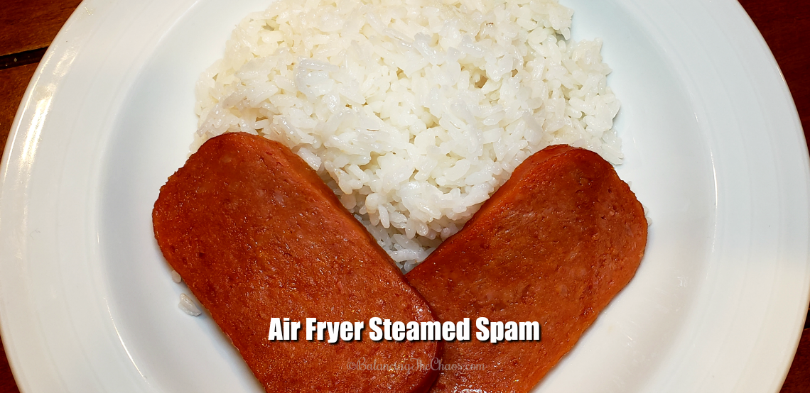 Air Fryer Steamed Spam