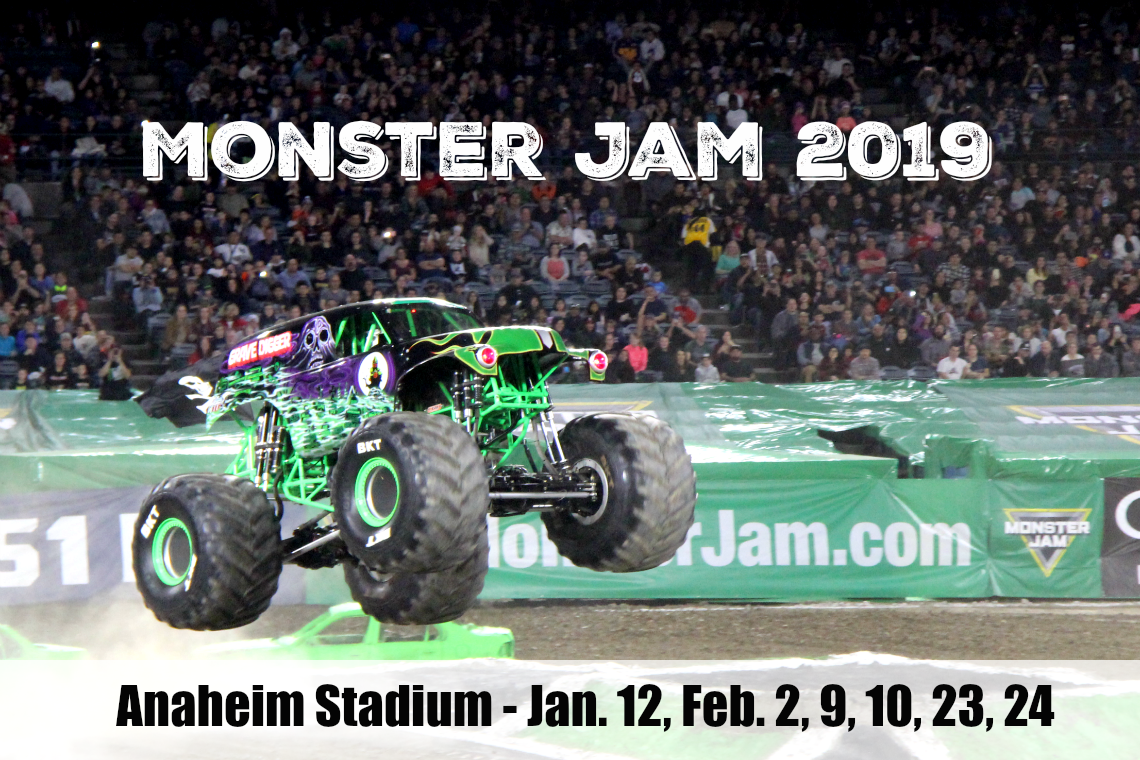 monster jam 2019 Grave Digger