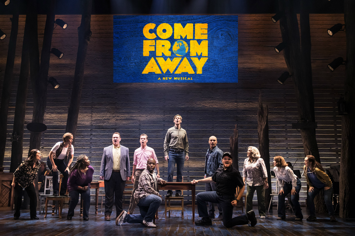 The First North American Tour Company of Come From Away Photo By Matthew Murphy 2018