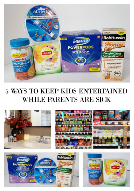 5 WAYS TO KEEP KIDS ENTERTAINED WHILE PARENTS ARE SICK