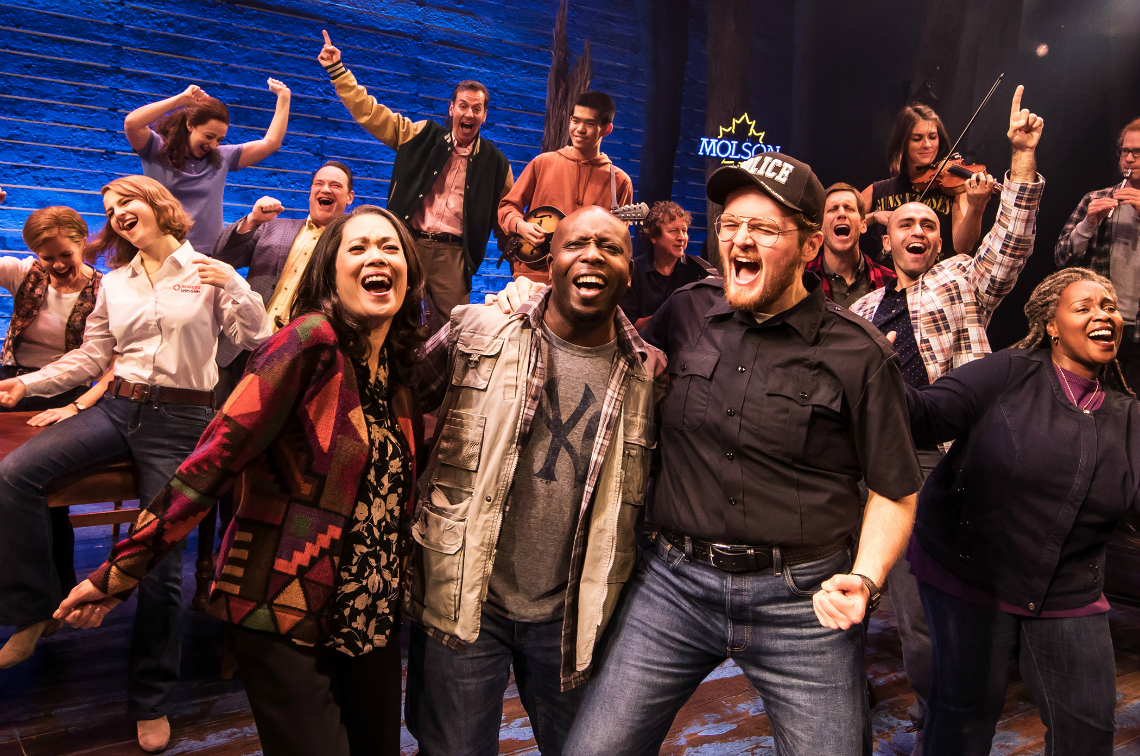 Come From Away At Segerstrom Center February 2019 Photo by Matthew Murphy