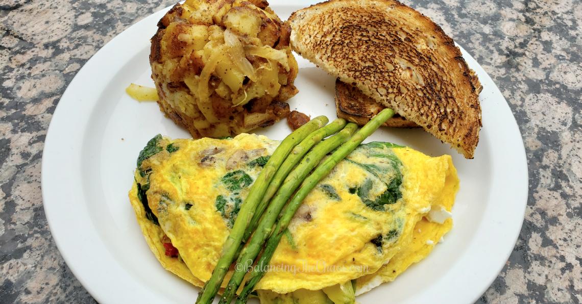 French Omelette  Newport Beach, Fashion Island